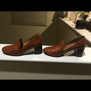 Decorative Stacked Loafer